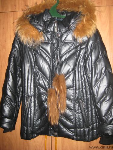 Продам зимнюю куртку р.48-50