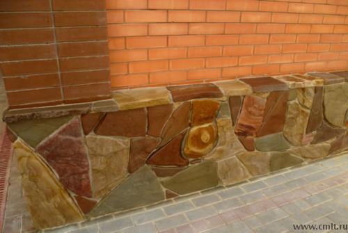 Камень ростовский песчаник, бут из Стрелицы, галька морская