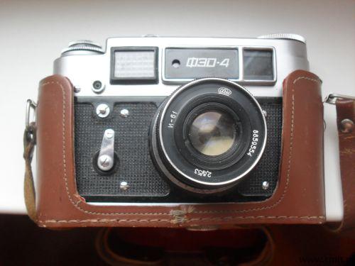 Продам фотоаппарат ФЭД-4. Фото 1.