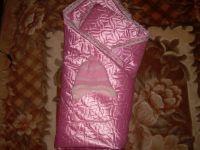 Продам конверт-одеяло для выписки в идеальном состоянии.