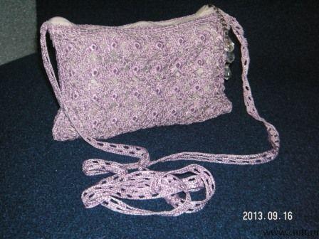 Маленькая сумочка ручной работы. Фото 1.