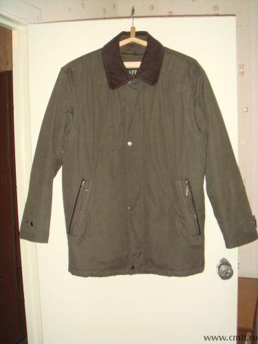 Куртка демисезонная с отстегивающей подстежкой на синтипоне размер 50-52. Фото 1.