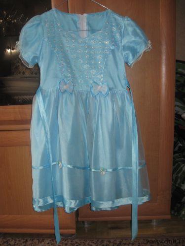 Платье надевалось 2 раза на утренник в детском саду. Состояние отличное