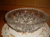 Большая хрустальная салатница
