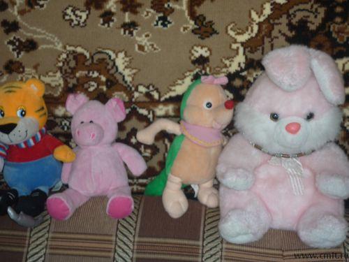 Мягкие игрушки. Фото 3.