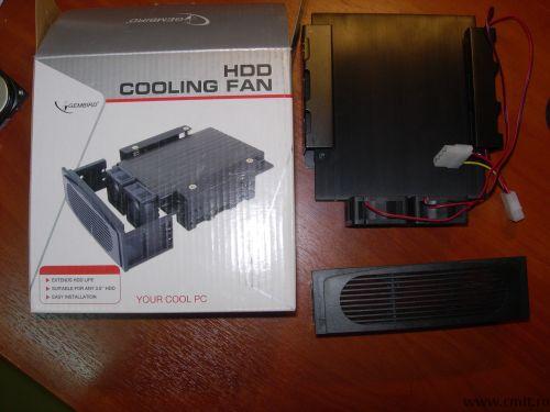 Система охлаждения для винчестера, процессора.