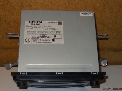 Штатная магнитола от Toyota Land Cruiser Prado 150