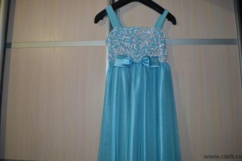 Продам платье для девочки рост 150-160.