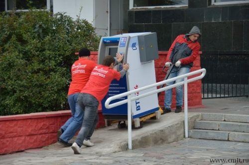 такелаж банкомата