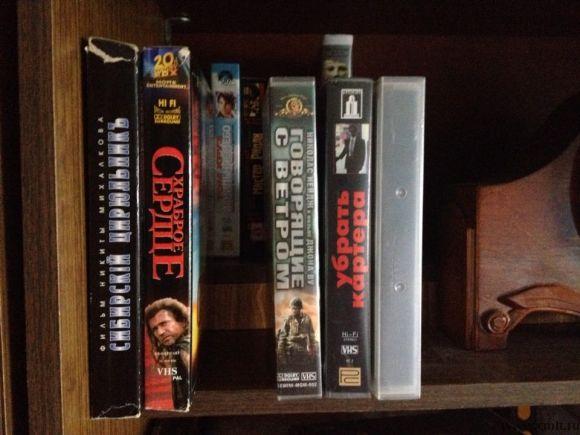 Видеокассеты с фильмами. Фото 6.