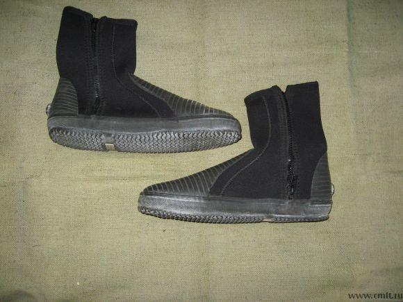Для гидрокостюма ботинки новые, р. 42, толщина 7 мм
