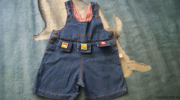Песочник джинсовый,новый. Фото 1.