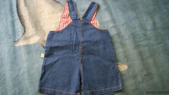Песочник джинсовый,новый. Фото 3.