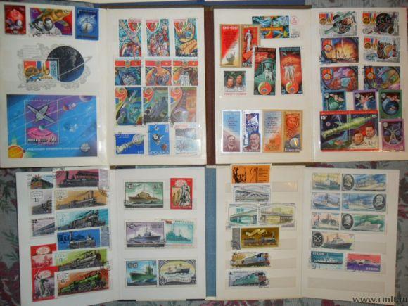 Продам марки почт.СССР,ГДР,Польша,Куба. Фото 1.