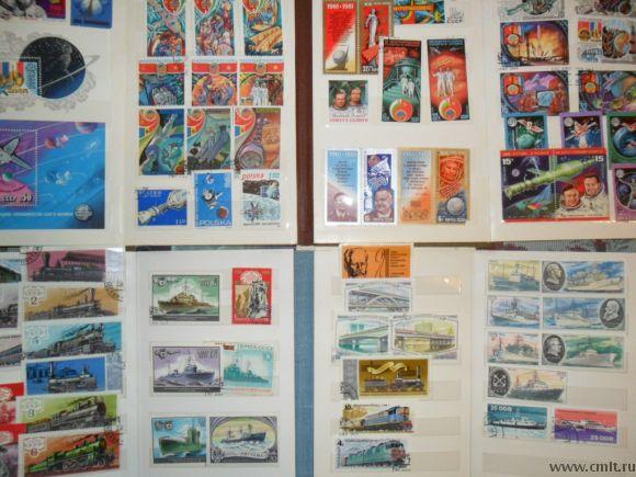 Продам марки почт.СССР,ГДР,Польша,Куба. Фото 3.