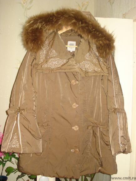 продам женскую теплую куртку.