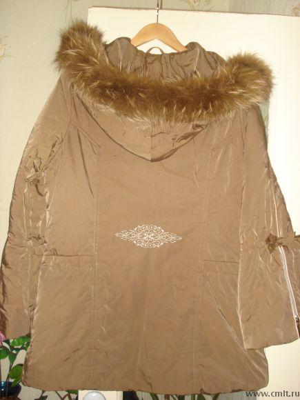 Продам куртку женскую теплую с капюшоном