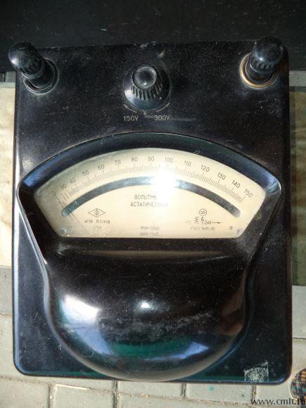 Вольтметр астатический