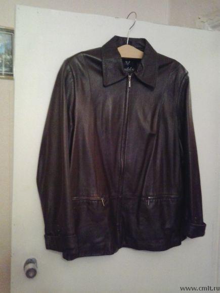 Продаю пиджак из натуральной кожи