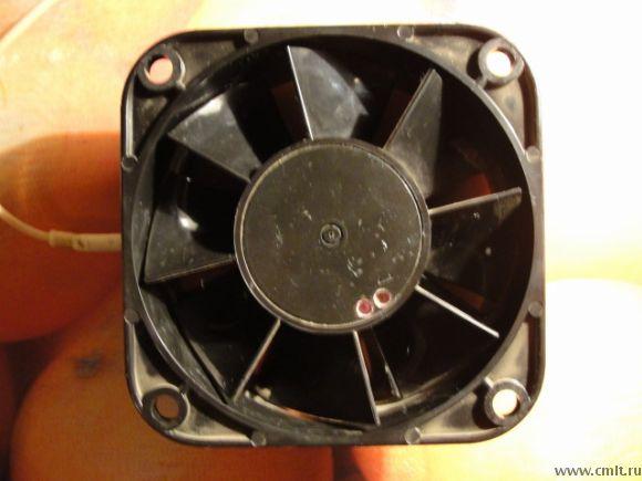 Вентилятор 1,0ЭВ-1,4-4-327ОУ4+конденсатор 1мкф 250в. Фото 1.
