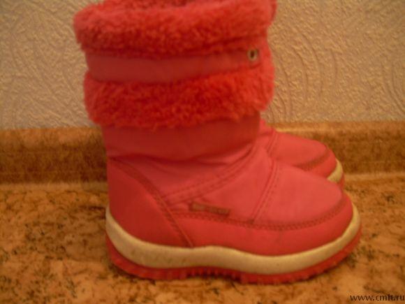 Продам зимние сапожки для девочки в хорошем состоянии. Размер 26.