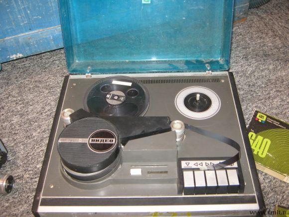 Бобинный видеомагнитофон Электроника 508