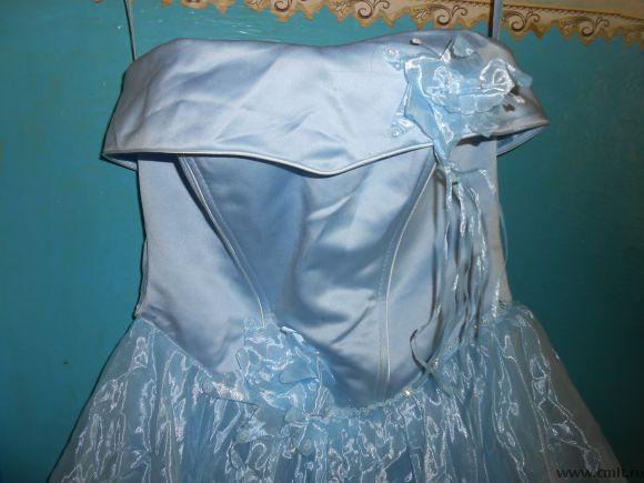 Продам длинное выпускное платье. Фото 3.