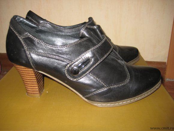 Продам туфли кожаные. Фото 1.