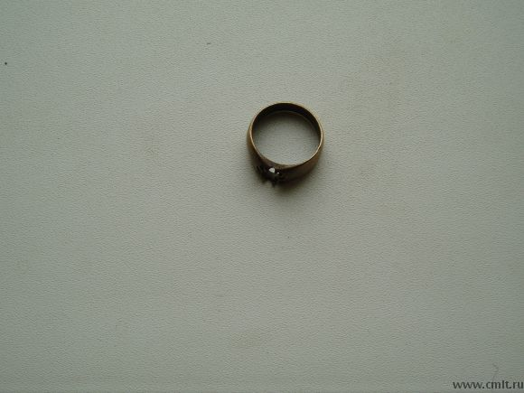 Кольцо 19век есть проба.. Фото 1.
