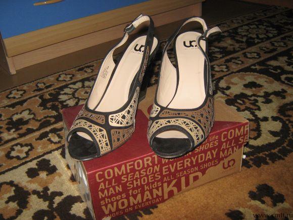 Туфли нарядные р.39. Фото 1.