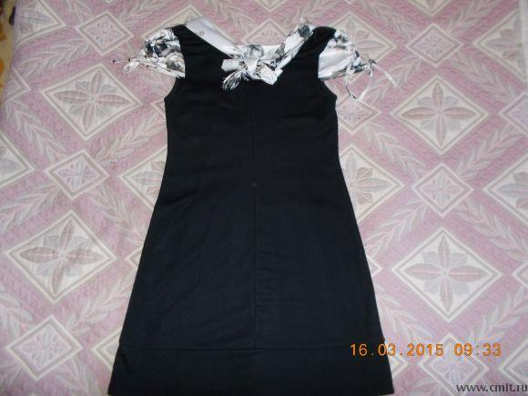 Маленькое черное платье нарядное р.42-44