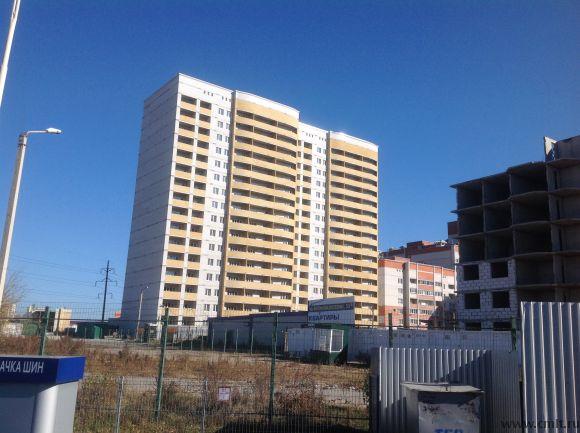 Двухкомнатная квартира в Северном районе с панорамным  видом