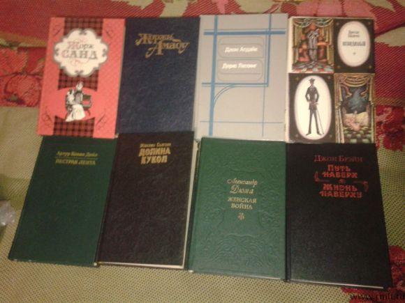Романы, сборники, детективы, художеств литература. Фото 1.