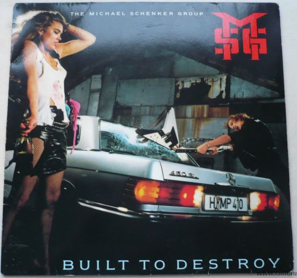 Грампластинка (винил). The Michael Schenker Group. Built To Destroy. 1983 Chrysalis. Германия.. Фото 1.