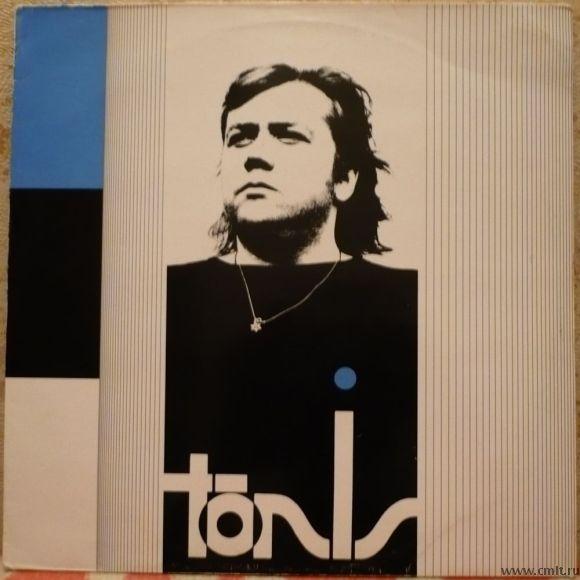 Грампластинка (винил). Тынис Мяги. Tonis. Записи 1988-1989. RockAdillo, 1990. Финляндия. Редкая.. Фото 1.