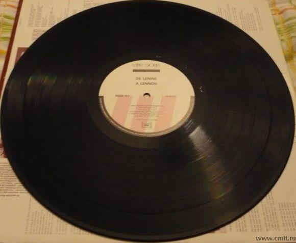 Грампластинка (винил). De Lenine A Lennon. Сборник русского рока. 1989. Франция. Редкое издание. LP.. Фото 8.
