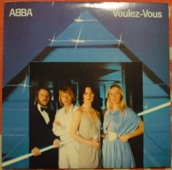 Грампластинка (винил). ABBA. Voulez-Vous. 1979. Atlantic. SD 16000. США.. Фото 1.
