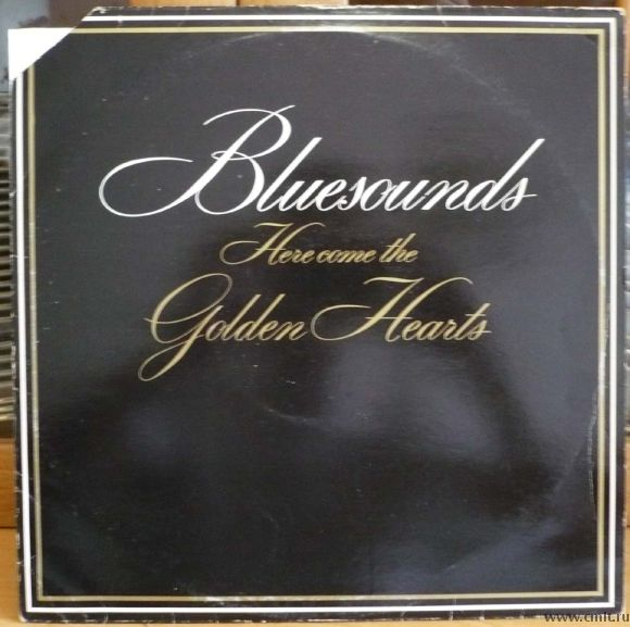 Грампластинка (винил). Bluesounds. Here Come The Golden Hearts. (c) Johanna/P. Karhu Oy 1982.. Фото 1.