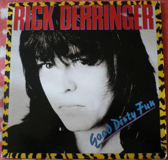 Грампластинка (винил). Rick Derringer. Good Dirty Fun. 1983. Passport Records. PB 6025. США.. Фото 1.