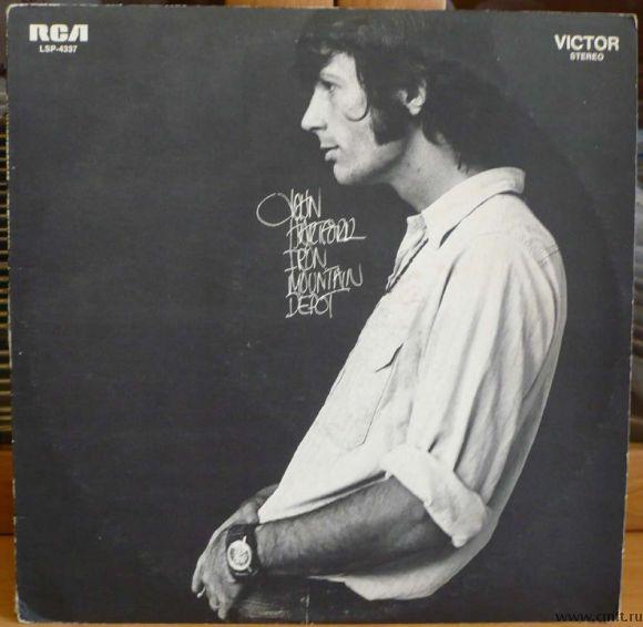 "Грампластинка (винил). Гигант [12"" LP]. John Hartford. Iron Mountain Depot. 1970. RCA Victor. США.. Фото 1."