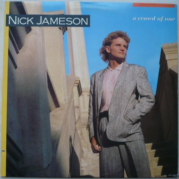 Грампластинка (винил). Nick Jameson. A Crowd Of One. 1986 Motown Record Corporation MOT-6210. Канада. Фото 1.