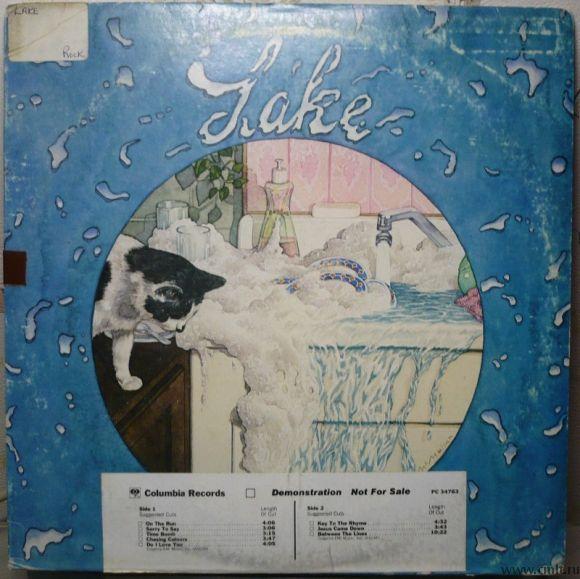 Грампластинка (винил). Lake. Lake (дебютный альбом). Columbia. PC 34763. США.. Фото 1.