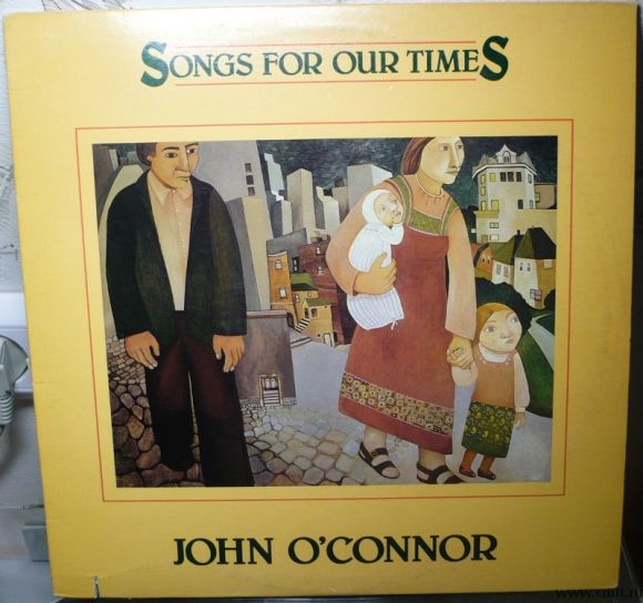 Грампластинка (винил). John O'Connor. Songs For Our Times. 1984 Flying Fish Records. FF 331. США.. Фото 1.