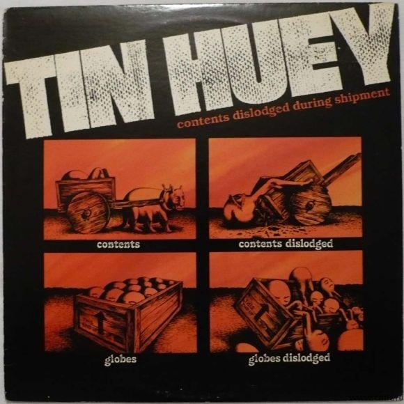 Грампластинка (винил). Tin Huey. Contents Dislodged During Shipment. 1979 Warner Bros. BSK 3297. США. Фото 1.