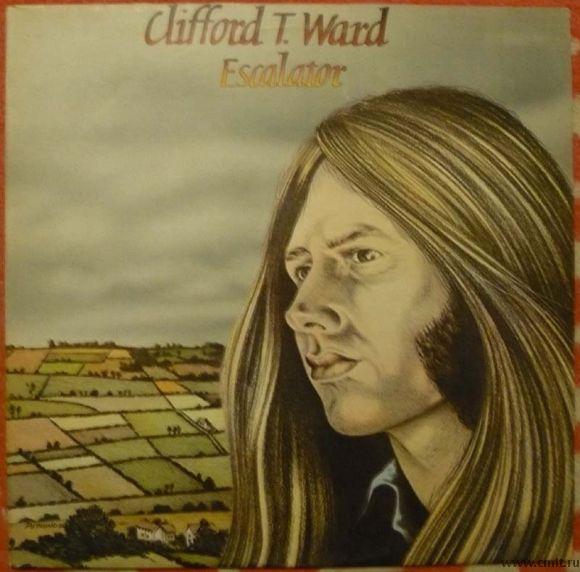 Грампластинка (винил). Clifford T. Ward. Escalator. 1975. Charisma. CAS 1098. Англия.. Фото 1.