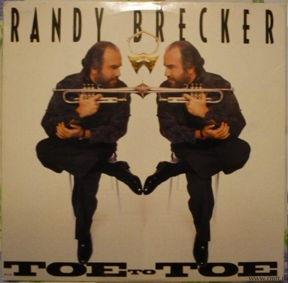 Грампластинка (винил). Randy Brecker. Toe To Toe. 1990. MCA. MCA-6334. США.. Фото 1.