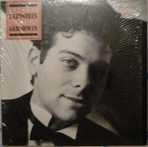 Грампластинка (винил). Michael Feinstein. Pure Gershwin. 1987. Elektra. 9 60742-1. США.. Фото 1.