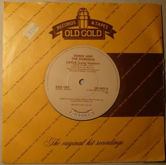 Грампластинка (винил). Сингл, 45 оборотов. Derek and The Dominos. Великобритания.. Фото 1.