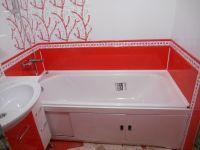 Ванная комната под ключ. Облицовка, 450 р./кв.м. Сантехника. Пластик. Гипсокартон. Шпаклевка 40 р./кв.м, обои 80 р./кв.м.