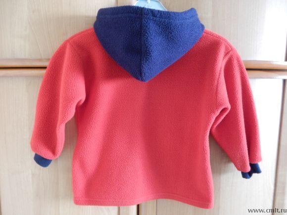 Курточка из флиса р.104-110